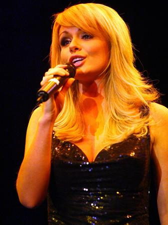 Katherine Jenkins performing in Australia