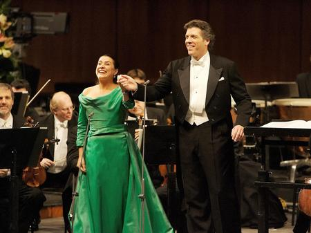Cecilia Bartoli and US baritone Thomas Hampson