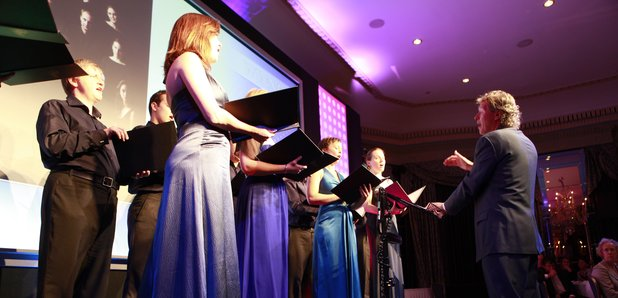 The Sixteen perform at the Gramophone Awards