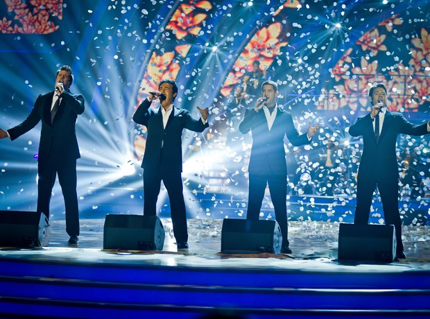 Il Divo and Strictly Come Dancing