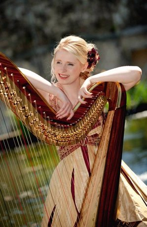 Claire Jones Royal Harpist