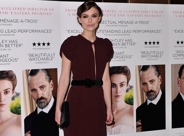 Keira Knightley attends film premiere