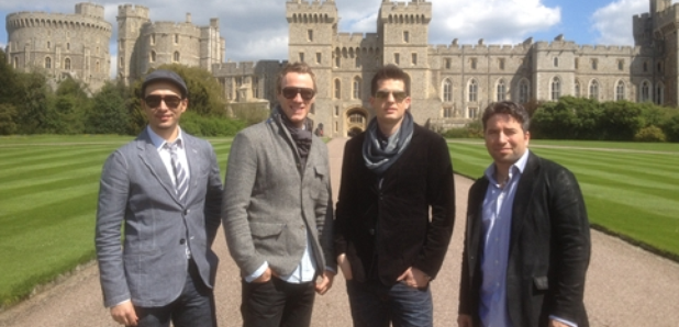 The Canadian Tenors at Windsor Castle