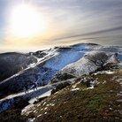 Malvern Hills in the snow
