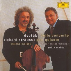 Dvorak and R Strauss Cello Works