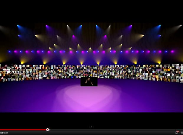Eric Whitacre Lux Aurumque youtube virtual choir