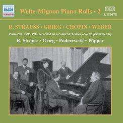 Welte-Mignon Piano Rolls Vol.2