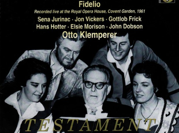 beethoven fidelio klemperer album cover