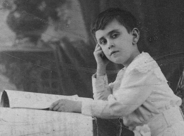 Claudio Arrau as a child