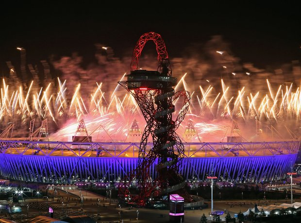 Paralympics Closing Ceremony 2012