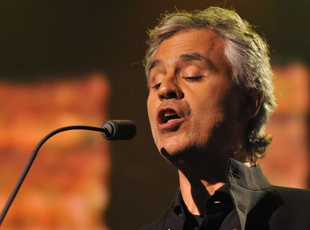 Andre Bocelli live at iTunes festival 2012