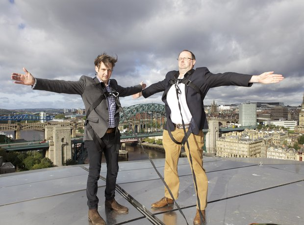 Jamie Crick and Tim Lihoreau on The Sage Gateshead