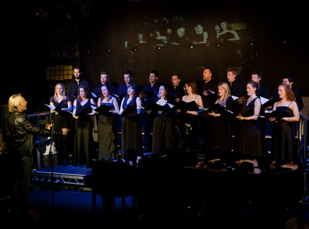 Eric Whitacre Singers at Yellow Lounge