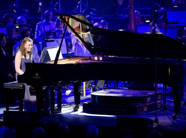 Laura Gardner at Classic FM Live 2012