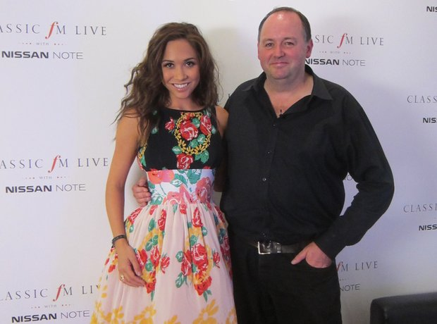 Tim Lihoreau and Myleene Klass Classic FM Live 201