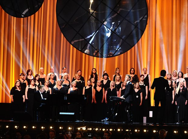 Gary Barlow, Andrew Lloyd Webber, Gareth Malone and the Military Wives Choir live