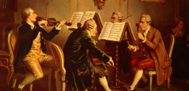 classical period string quartet mozart museum