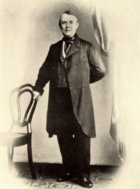 jakob brahms, Brahms' father