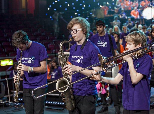Bradford Massed Ensemble schools prom rehearsal 6