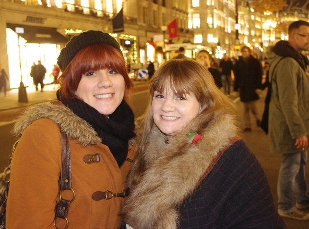 Did you join us to turn on the Regent Street Christmas Lights?