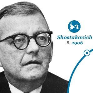 Shostakovich Born in 1906