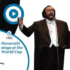 1990 Pavarotti sings at the World Cup