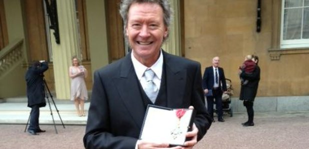 Harry Christophers with CBE