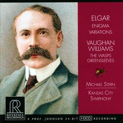 elgar vaughan williams kansas city album cover