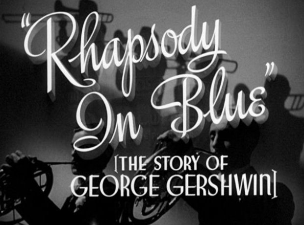 rhapsody in blue film gershwin