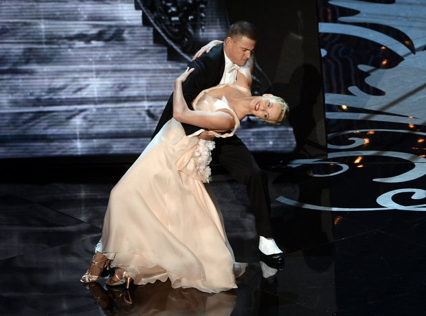 Charlize Theron and Channing Tatum at the Oscars 2