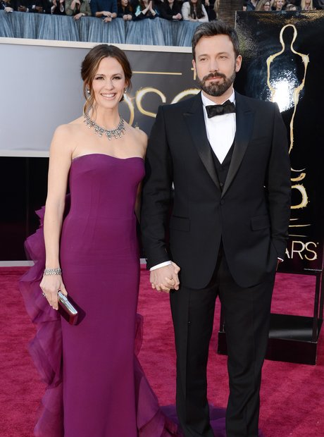 Jennifer Garner and Ben Affleck at the Oscars 2013