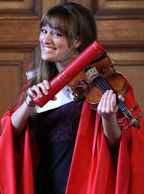 nicola benedetti honorary doctorate