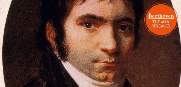 Ludwig van Beethoven 1803 with stamp