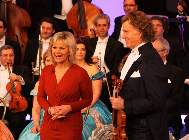 Andre Rieu on tour in the USA