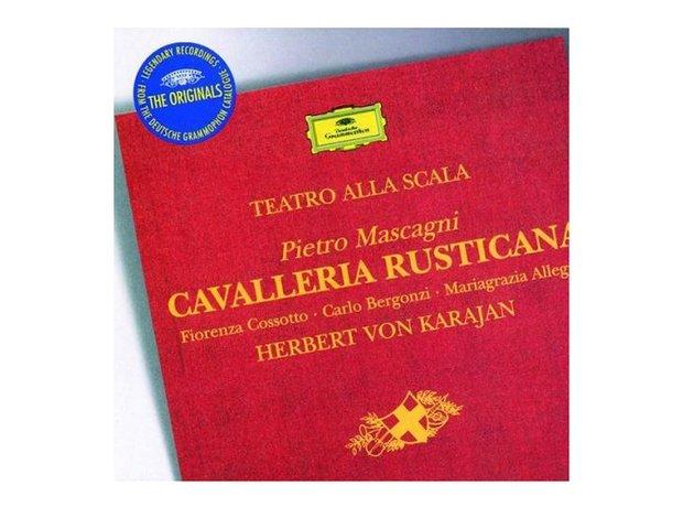 Mascagni Cavalleria Rusticana (includes Intermezzo) album cover