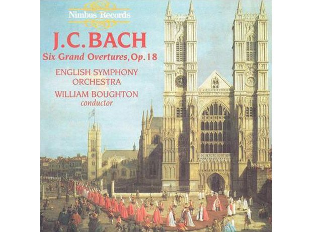 275 J.C. Bach, Symphony for Double Orchestra, by E