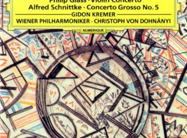 276 Glass, Violin Concerto, by Gidon Kremer, Vienn