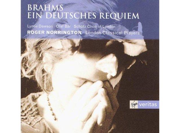 Brahms A German Requiem album cover