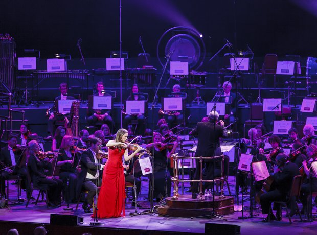 Jennifer Pike Classic FM 2013 the performance