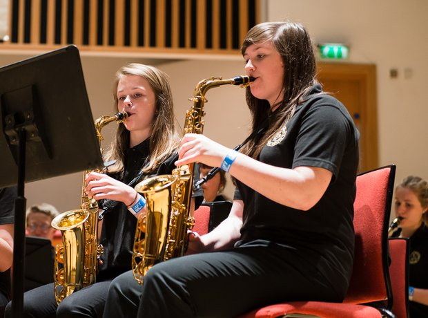 High Wycombe Music Centre Sax Choir