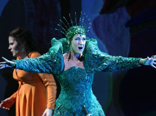 diana damrau queen night Mozart Magic Flute