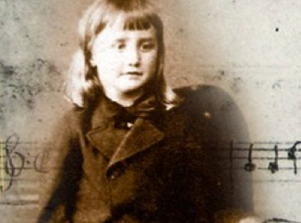 Ralph Vaughan Williams child composer