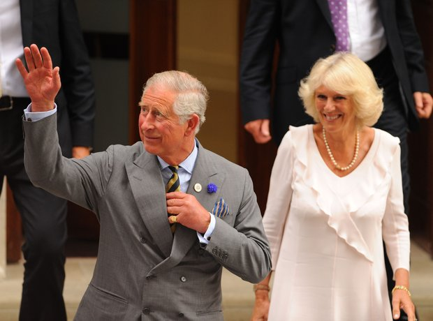 Prince Charles and The Duchess of Cornwall Visit R