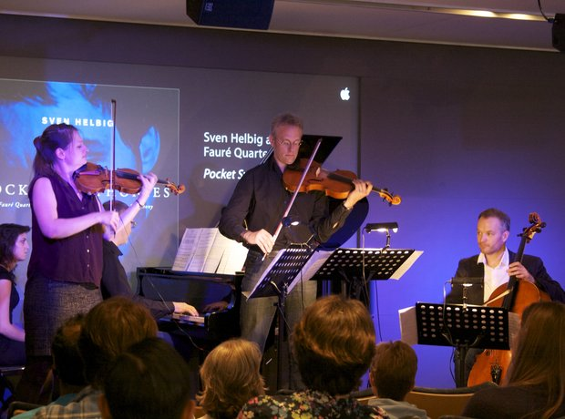 Sven Helbig pop-up concerts