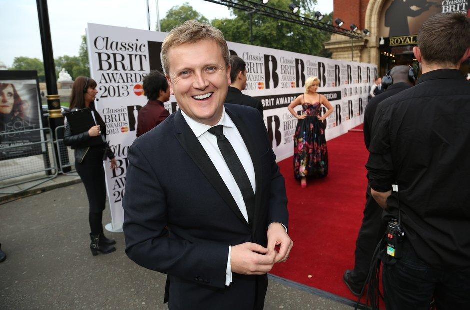 Aled Jones at Classic Brit Awards 2013