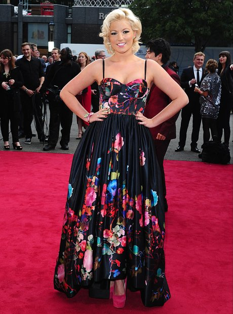 Natalie Coyle at the Classic Brit Awards 2013