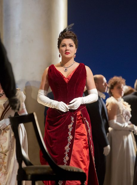 Anna Netrebko at the Metropolitan Opera