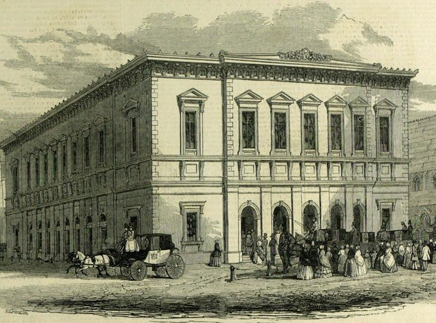 Liverpool Philharmonic Hall 1840s