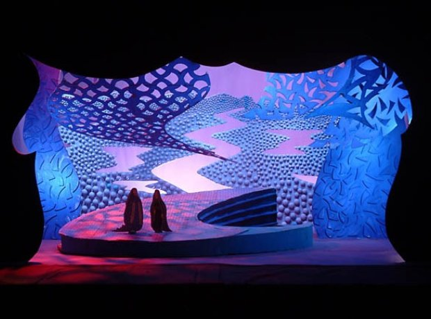 Hockney set design Frau Schatten