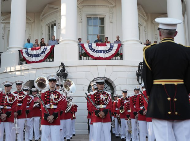 United States Marine Band Barack Obama White House